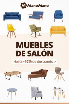 Descubre nuestra selección de muebles de salón con hasta -40% de descuento (hasta el 26/10). Nuestros muebles para no hacer nada, y simplemente disfrutar de tu casa.
