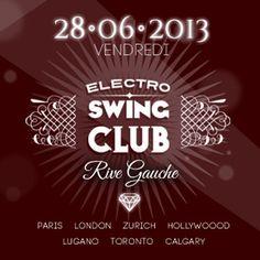 Gagne tes places pour la soirée Electro Swing Club le vendredi 28 juin