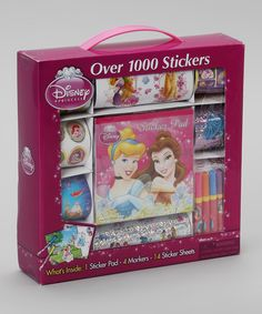 Take a look at this Disney Princess Sticker Set on zulily today!