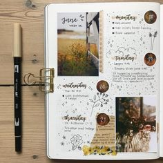 27 Messy Style bullet journals to make you feel totally normal scrapbook journal Bullet Journal Aesthetic, Bullet Journal Ideas Pages, Bullet Journal Spread, Bullet Journal Inspo, Bullet Journal Layout, Bullet Journals, Art Journals, Scrapbook Disney, Friend Scrapbook