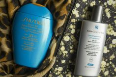 Physical SPF will better protect your skin from the sun - Shiseido and SkinCeuticals SPF