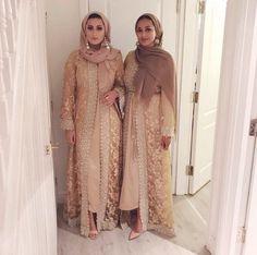 Ideas dress hijab wedding abayas for 2019 Wedding Hijab Styles, Muslim Wedding Dresses, Pakistani Wedding Outfits, Pakistani Dresses, Indian Dresses, Wedding Abaya, Eid Outfits, Bridal Outfits, Fashion Outfits