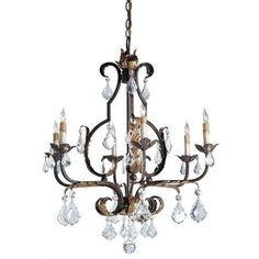 Currey and Company Tuscan Chandelier, Large 9828