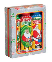 A Santa Holiday Christmas Gift Box Set that's Sure to Please any Bingo Lover. Christmas Bingo, Christmas Gift Box, Christmas Holidays, Projects To Try, Lunch Box, Santa, Anniversary, Gift Ideas, Christmas Vacation