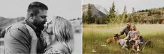 Engagement Photos at Lundbreck Falls in Crowsnest Pass with the couples' dogs in the pictures. Photos by Havilah Heger Photography Engagement Shoots, Wedding Engagement, Wedding Day, Banff National Park, National Parks, My Favorite Part, How Beautiful, I Love Dogs, Wedding Photos