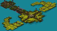 wakfu MMO: general District by Sevpoolay.deviantart.com on @deviantART