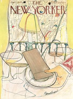Ludwig Bemelmans : Cover art for The New Yorker 1194 - 3 January 1948