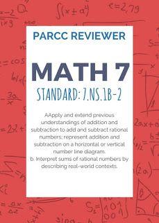 Google my eLearning: Math 7 PARCC Reviewer 9 (7 NS 1b-2
