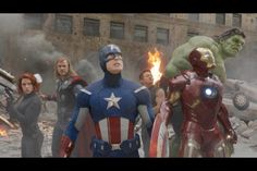 Advengers all together now