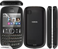 Nokia Asha an another make of Nokia Asha Series, is a handset with great battery life and colorful QWERTY keyboard. Nokia Asha 200, Latest Tech Gadgets, Phone Codes, Cell Phones For Sale, Latest Phones, Instant Messaging, Unlocked Phones, Dual Sim