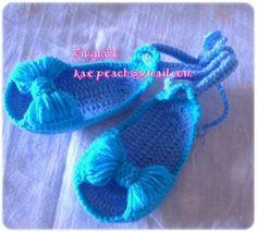 Zapatos Tegidos: grann y tierma idea para tu beba