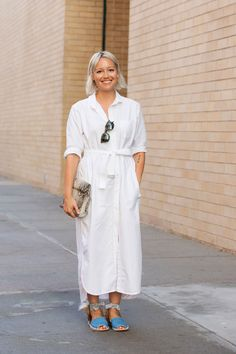 The NYFW Street-Style Looks That Truly Stunned #refinery29  http://www.refinery29.com/2014/09/73987/new-york-fashion-week-2014-street-style-photos#slide21  Rachael Wang mixes her whites with unexpected fur accessories.