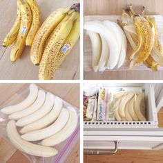 Freezing 101 How to freeze bananas for smoothies and banana nicecream!How to freeze bananas for smoothies and banana nicecream! Healthy Smoothies, Smoothie Recipes, Healthy Snacks, Healthy Recipes, Healthy Eating, Smoothie Prep, Healthy Fridge, Smoothie Packs, Avocado Smoothie