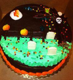 Halloween themed cake - Mueller's Bakery