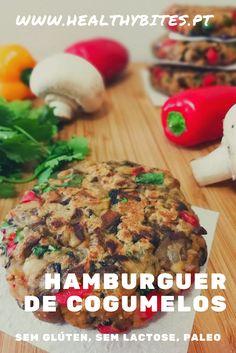 Healthy Bites, Low Carb Paleo, Vegetarian Recipes, Healthy Recipes, Yams, Banana Bread, Stuffed Mushrooms, Good Food, Health Fitness