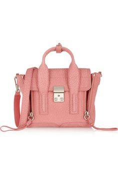 3.1 PHILLIP LIM The Pashli mini textured-leather trapeze bag €800