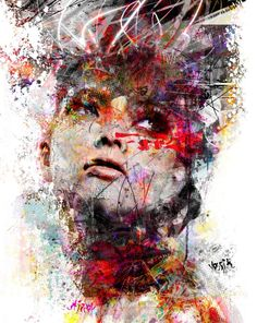 "Saatchi Art Artist yossi kotler; Painting, ""the spirit of the self"" #art"