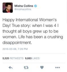 Misha on twitter
