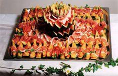 Parmaschinken Melone Kalte Platten