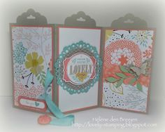 Lovely Stamping: Workshop avond: Haal meer uit de Scallop tag topper punch