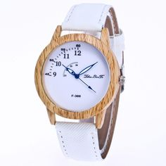 >> Click to Buy << Luxury Brand gift Fashion Wood Watch Men Women Quartz Wristwatch Lady Vintage Leather Watch Clock Male Reloj Mujer Hombre #Affiliate