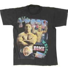 797476fc1c Vintage Mike Tyson Welcome Home T-Shirt