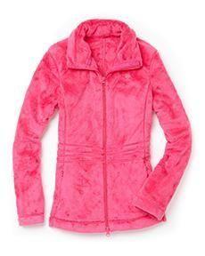 Lilly Pulitzer Maddie Zip Front Fleece in Chic Pink