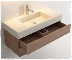 Mobile bagno moderno in #teak massello   Arredo bagno design
