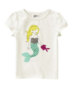 ***Sparkle Mermaid Tee at Crazy 8