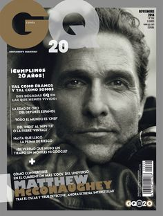 Noviembre 2014: Matthew McConaughey