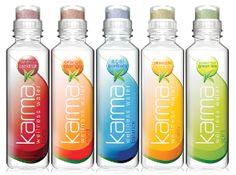 Karma Wellness Water... packaging