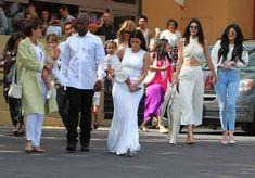 Kim Kardashian Photos: Kanye West and Kim Kardashian Attend Church on Easter Sunday