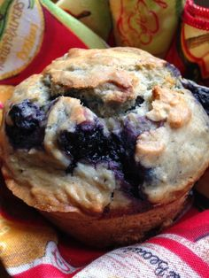 Turnips 2 Tangerines: Sourdough Blueberry Muffins - used fed starter, needs a bit more salt and the 3/4 c with no ingredient is water
