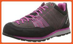 Scarpa Women's Crux Approach Shoe, Mid Grey/Dahlia, 38 EU/7 M US - Outdoor shoes for women (*Amazon Partner-Link)