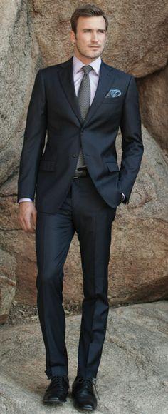 J.Hilburn suit, amazing cut