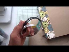 ▶ Binding rings for my Cricut Mini books - YouTube