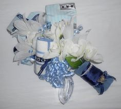 Custom, made-to-order bridal shower gift bouquet