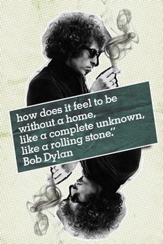 ☮ American Hippie Classic Rock Music Lyrics - Bob Dylan