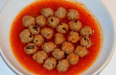 TOPTOPU (kulki mięsne w pomidorowym sosie) http://tureckieprzepisy.blogspot.com/2012/11/toptopu-kulki-miesne-w-pomidorowym-sosie.html