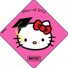 This is so going on my daughters's graduation cap! Can't wait to B'Dazzle it!