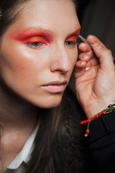 #runway beauty #makeup #color