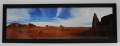 """Our 36"""" wide framed iPhone Panorama Print - get yours at ipanoramaprints.com"""