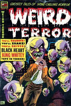 Comic Book Cover For Weird Terror #12 - Date: Jul 1954