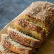 Cinnamon Swirl Donut Bread at laurenslatest.com