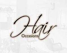Hair Occasions Logo Design