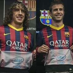 Intel Puts Logo Inside of Barcelona Shirt to Be Seen After Goals #sportsbiz #sponsorship
