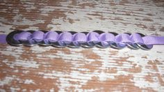 Metal Washer Bracelet by LittlePaisleyBird on Etsy, $6.50