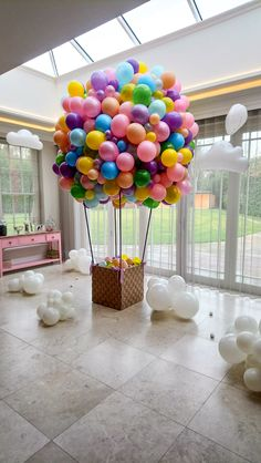 Dave Ramsey Baby Steps Discover Baby Shower Balloons - By Bubblegum Balloons Deco Baby Shower, Baby Shower Balloons, Shower Party, Baby Shower Themes, Care Bear Birthday, Baby Birthday, 1st Birthday Parties, Birthday Morning, Birthday Balloon Decorations