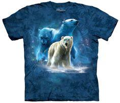 Polar Bear T-Shirt | Polar Collage Adult