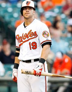 Ladyboner of the Day: Chris Davis...so now that Cosmo knows the world knows how hot hot hot